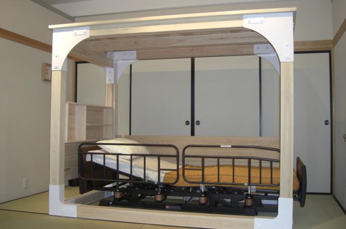 介護ベッド用シェルター1